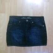 Фирменная джинсовая юбка M