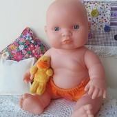 Кукла куколка пупсик виниловый