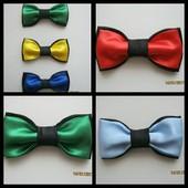 галстук-бабочка,для детей и взрослых.Разные цвета,разные размеры.