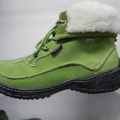 Замшевые ботинки 40 разм