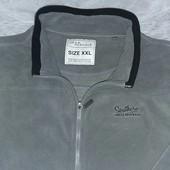 Мужская флисовая кофта от ТСМ(германия), цвет - серый , размер ххл(54)