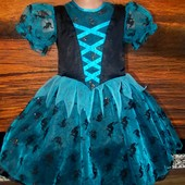 Маскарадное платье волшебницы на рост 116см