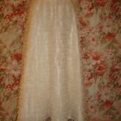 Юбка пышная с рюшами сатин-атлас для свадьбы или фотосесии