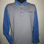 На 8-9 лет Стильный реглан рубашка Matalan мальчику