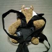 Фирменная сумка-кенгуру Chicco GO Black модель 06079401950000
