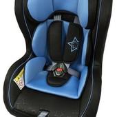 Автокресло Wonderkids Crown safe (синий/черный)