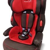 Автокресло Wonderkids Valet Safe (красный/коричневый)