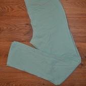 Р. 40/L Enjoy Фирменные мятные, бирюзовые брюки, скинни, джинсы штанишки