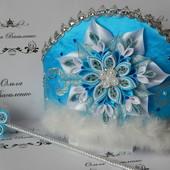 """Кокошник"""" Корона снегурочки""""Новогодние украшения"""