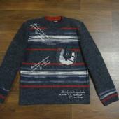 Мужской свитер, очень теплый. Л, ХЛ.