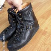 ортопедичні шкіряні черевики 36/37р 23.5см