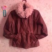Фирменная деми-куртка на XS-S р-р. Смотрим замеры и фото в магазине.