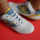 ТСМ кожаные кроссовки 40