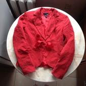 Стильный яркий вельветовый пиджак фирмы H&M размер XS