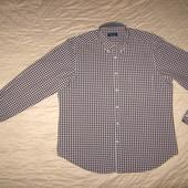 Рубашка в клетку Massimo Dutti разм.XXL