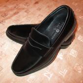 Stone Haven Италия кожаные мужские туфли новые лоферы мокасины р. 39 - 40