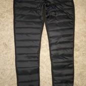 Теплые модные дутые штаны 42-44,44-46 р