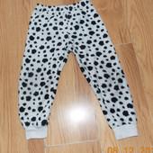 Акция!Теплые брюки для ребенка 4-5 лет, 104-110 см