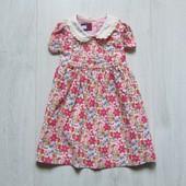 Стильное вельветовое платье для маленькой принцессы. Tommy Hilfiger. Размер 3-6 месяцев