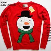 Новогодний яркий свитер