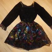 Карнавальное нарядное платье на 9-10лет