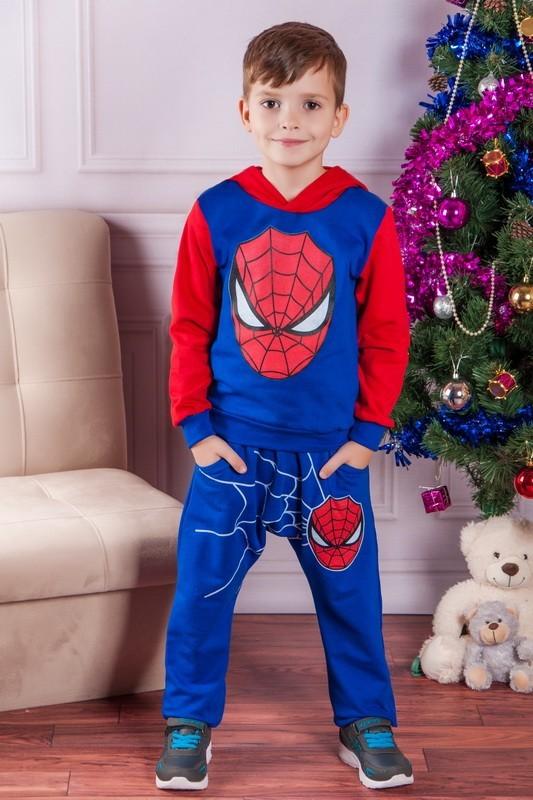 Спортивный костюм спайдермен 3-4 года фото №1