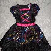 Новое Карнавальное платье звездочки на 3-4 года