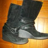 Ботинки, сапоги 36 р. Замш. Деми.