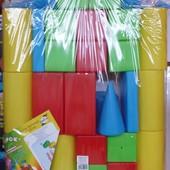 Набор кубиков Хуторок 610