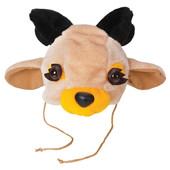 Карнавальный костюм олененка, оленя, детская шапочка и маскарадный жилет