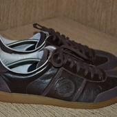 отличные кожаные кроссовки 29 см