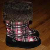 Термо сапожки 34 р Shoedept Dintex Waterproof на шерсти
