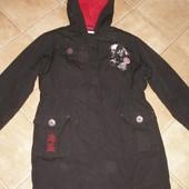 1160 Парка куртка Disney 11-12 (152). зима.