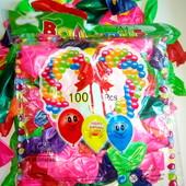 Надувные шарики 100 шт. Есть опт!!!