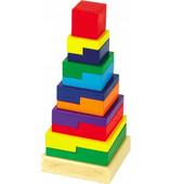 """Пирамидка-головоломка  от ТМ """"мир деревянных игрушек"""""""