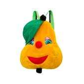Детский рюкзак груша, мягкая игрушка