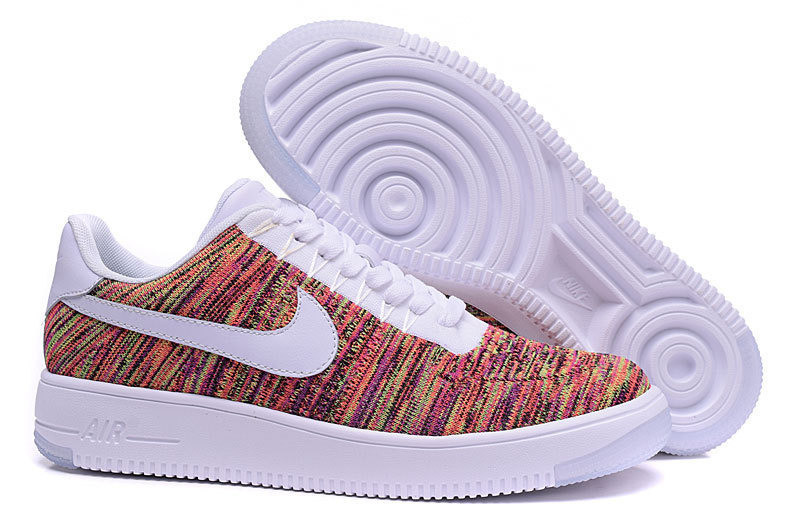 Кроссовки Nike Air Force 1 Ultra Flyknit low multicolor, р. 38-45, код mvvk-1144-2 фото №1