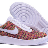 Кроссовки Nike Air Force 1 Ultra Flyknit low multicolor, р. 38-45, код mvvk-1144-2