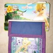 Новый кошелек с феей Динь-Динь Disney и новый пенал