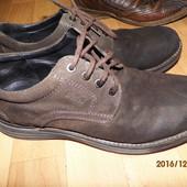 (і308)фирменные кожаные туфли 43 р Gallus