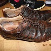 (і312)фирменные кожаные туфли 43 р Gallus
