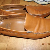 (№і321)фирменные кожаные мокасины 42-43 р UK 9 Sioux