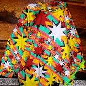 Маскарадная блуза от 50 до 60 размера хлопок