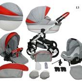 Универсальная коляска 2в1 Mikrus Cruiser New 13B Микрус