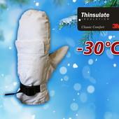 Лыжные женские варежки р. L/Xl с выдвижными перчатками Thinsulate Walmart Сша