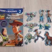 История игрушек,toy story ,книга и фигурки