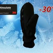 Лыжные подростковые рукавицы р. S/M Thinsulate 40г Walmart Сша