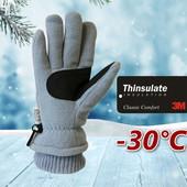 Лыжные детские перчатки флис Thinsulate40 Walmart Сша