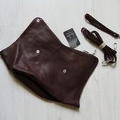 Новая асимметричная стильная сумка-клатч для девушки. Dudlin (Италия)