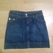 Фирменная джинсовая юбка 9-10 лет